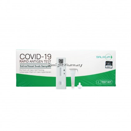 [READY STOCK] Salixium Covid-19 Rapid Antigen Test Kit 1'S